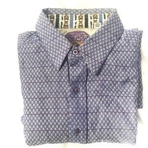 Robert Graham Men's Purple Dress Shirt